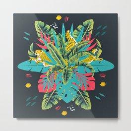 Tropical modern art Metal Print