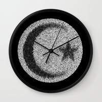 islam Wall Clocks featuring Many Paths of One Humanity - 4 of 7 - Islam by ART.KF