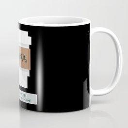Caffeine is Super Effective Coffee Mug