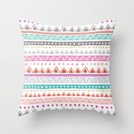 Half Full Stripe Throw Pillow