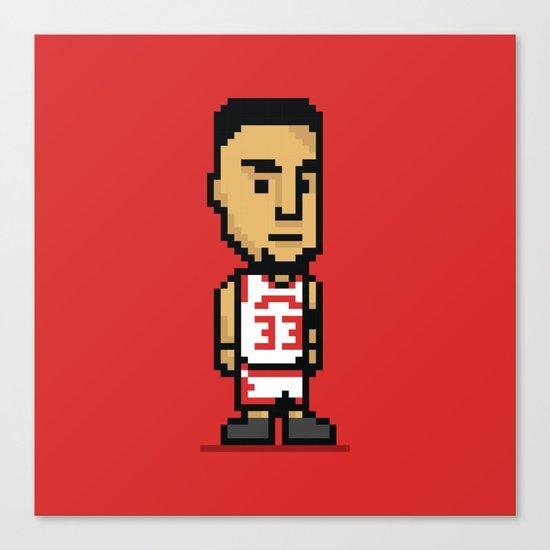 8-Bit: Scottie Pippen Canvas Print
