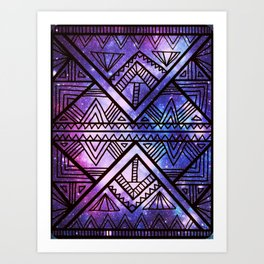 Ancient Galaxy Art Print