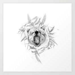 B34R (Bear) Art Print