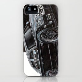Miss Sultry iPhone Case