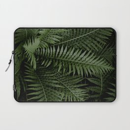 Tropical leaves 02 Laptop Sleeve