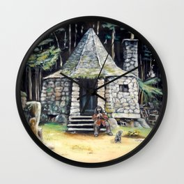 Hagrid's hut  Wall Clock