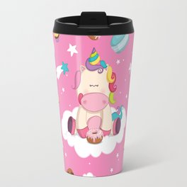 Unicorns made me do it! Travel Mug