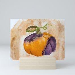Rotting Pumpkin Mini Art Print