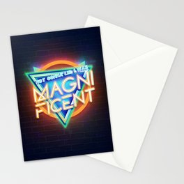 Magnificent - Orange Stationery Cards