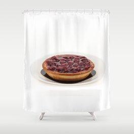jam tart Shower Curtain