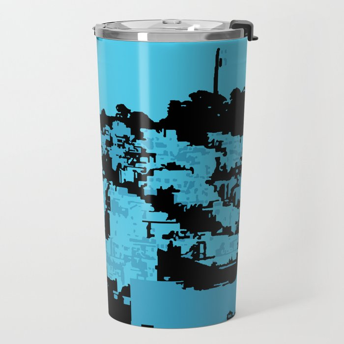 Telegraph Hill Print Travel Mug