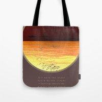 poem Tote Bags featuring Ocean poem by Joris182