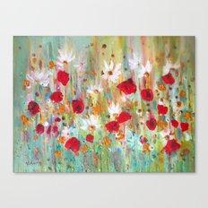 A summer meadow Canvas Print