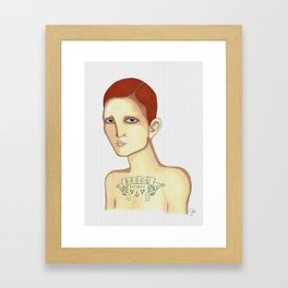 Bardu Bitches Framed Art Print