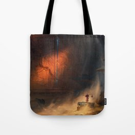 Desert Gate Tote Bag