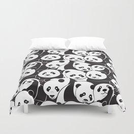 Pandamic Duvet Cover
