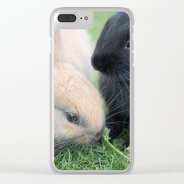 Finish Your Vegetables Clear iPhone Case