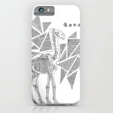 Skeletal Giraffe Slim Case iPhone 6s