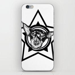 Tyson (black & white) iPhone Skin