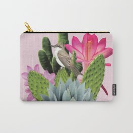 Cactus Lady Carry-All Pouch