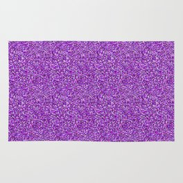 Purple Moondust Glitter Pattern Rug