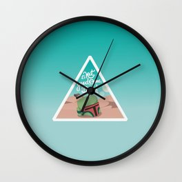 It's not good to me dead Wall Clock