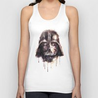 darth Tank Tops featuring Darth Vader by beart24