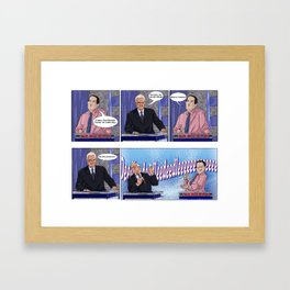 Jeopardy Freebird Framed Art Print