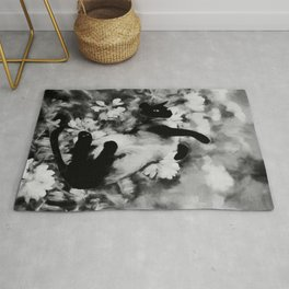 Sulley's Dream BW Rug