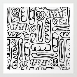 Carb Loading Art Print