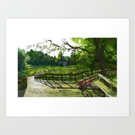 Nature Center Art Print