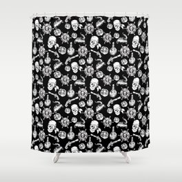 A Pirate Life Shower Curtain