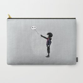 Boy with Robot Carry-All Pouch