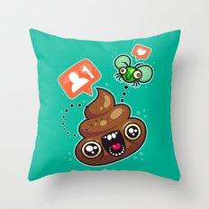 Love And Follows Throw Pillow