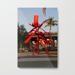 Centennial Park in Fort Myers Metal Print