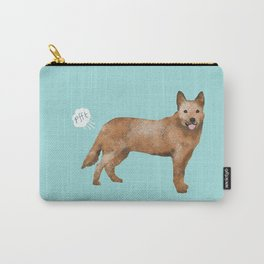 Australian Cattle Dog red heeler funny fart dog breed gifts Carry-All Pouch