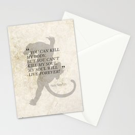 Famous Last Words: Huey Newton Stationery Cards