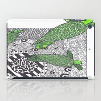 turtles iPad Cases featuring Turtles by Kandus Johnson
