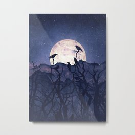Midnight Chorus Metal Print