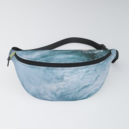 Wave in Ireland during sunset - Oceanscape Fanny Pack