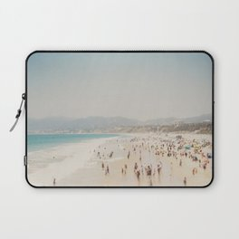 summer time in Santa Monica ... Laptop Sleeve