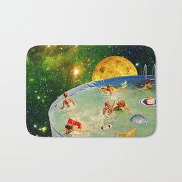 Screaming Children in Pool Bath Mat