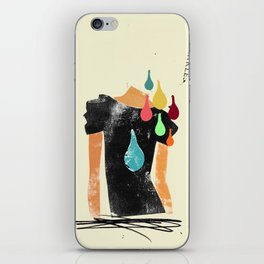 Love grows cold, blood, tears and gold won't make it any better iPhone Skin