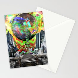 「Off The Moon」 Stationery Cards