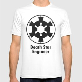 Death Star Engineer (black edition) T-shirt