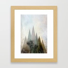 TREES IV Framed Art Print