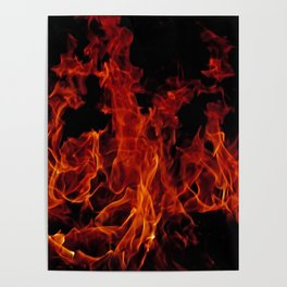 Fire Poster