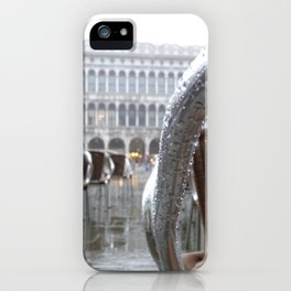 St Mark's Square after rain iPhone Case