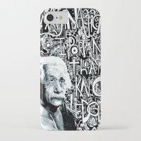 einstein iPhone & iPod Cases featuring Einstein.  by Will Santino