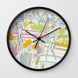First date Wall Clock